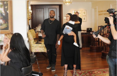 Kim and Kanye turned up at a brunch for their superfans and they all lost it… it's The Dredge