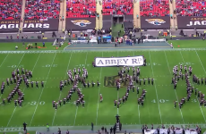 The marching band was the best thing about the NFL's latest Wembley game