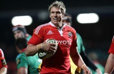 Jean de Villiers may face Munster in the Champions Cup after signing with Leicester Tigers