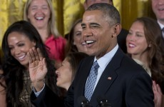 Barack Obama brilliantly redefined the meaning of 'playing like a girl'