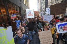 What are the Occupy Wall Street protests in New York?