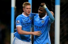 Another day, another Kevin de Bruyne goal as Man City ease past Palace