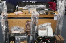 Photos: The €3 million worth of drugs and guns seized in Tallaght