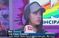 Justin Bieber stormed out of a mortifying interview on Spanish radio… it's the Dredge