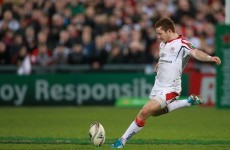 Ireland players named in Ulster side to face Munster