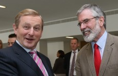 Gerry Adams: The Taoiseach is a spoofer who is making an eejit of himself