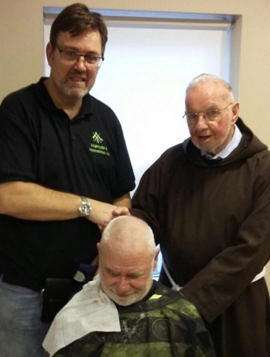 Dublin homeless offered free haircuts in new initiative