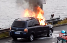 Opel carrying out investigation after car bursts into flames outside Cork
