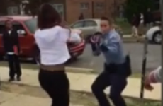 Cop tries to break up fighting teenagers, gets involved in a dance off