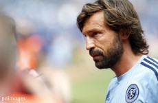 Why would Pirlo risk messing that beautiful hair? It's Comments of the Week
