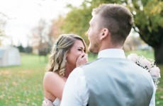 A wedding photographer didn't show up for this couple's big day but all was not lost
