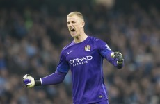 Man City won despite a Joe Hart howler today