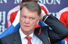 Van Gaal: United were not the better team