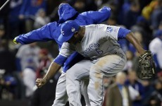 There was late drama in Game 4 of the World Series last night