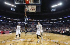 This is getting silly! Steph Curry scores 53 points against the Pelicans