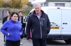 "Pat Kenny observes ""third world"" conditions in report from Dublin halting site"