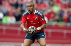 Munster will face French and English competition to keep Zebo in Ireland