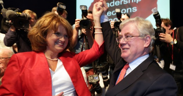 Joan Burton has spoken about having Eamon Gilmore 'shot at dawn'