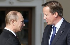 David Cameron to call Putin to explain his fears that plane was bombed