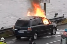 Opel is recalling Zafira cars in Ireland after several caught fire