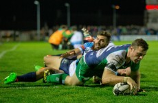 Henshaw among the tries as Connacht move to the top of the table