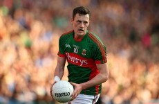Diarmuid O'Connor won a Mayo team-mate over €3,000 by winning Young Footballer of the Year