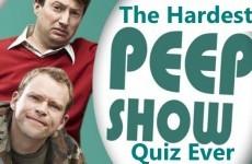 The Hardest Peep Show Quiz Ever