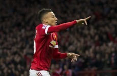 Manchester United stay in touch at the top of the Premier League thanks to Lingard's first goal