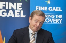 Good news for Enda: Fine Gael support is up AGAIN