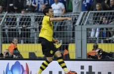 Man United cult hero with unique goal as Dortmund edge Schalke in thrilling derby