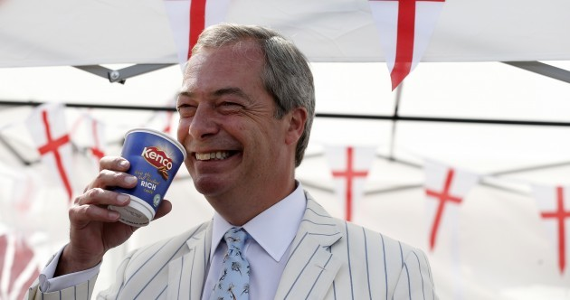 Ireland has been 'bullied' in its dealings with the EU: Farage