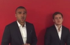 These two Irish rugby players just pulled off an epic lip sync video