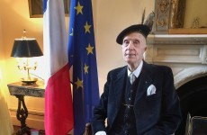 Irish World War II veteran awarded France's highest military honour