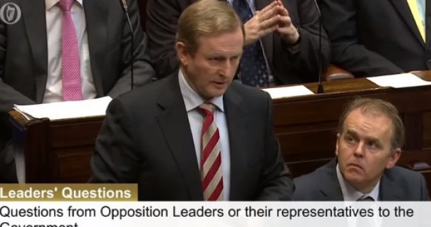 Enda insists the Anglo loans inquiry won't collapse