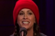 Take a break and watch Alanis Morissette's 2015 update of Ironic