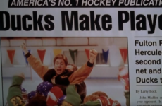 The unstoppable Flying V of Mighty Ducks quizzes