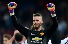 'The way Old Trafford received me made the hairs stand up', says David de Gea
