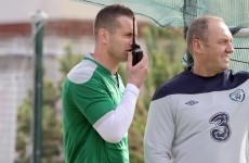Caption competition: Shay Given sends a message