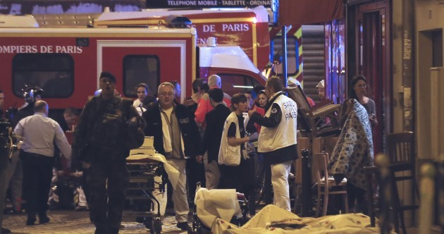 As it happened: At least 120 people dead as Paris is hit by explosions and shootings