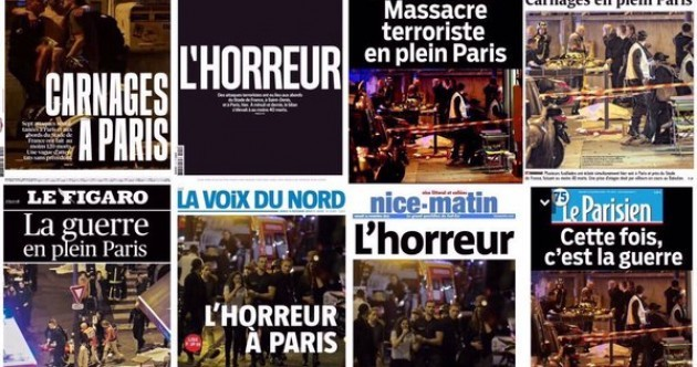 'This time, it's war' – French media reacts to deadly Paris attacks