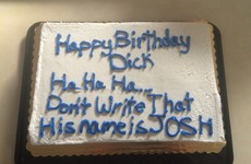 This guy's mates got him the best birthday cake ever