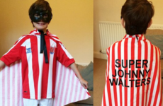 A little kid had to go to school as a super hero… so he chose Jon Walters