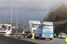 Woman dies of injuries sustained in M50 crash