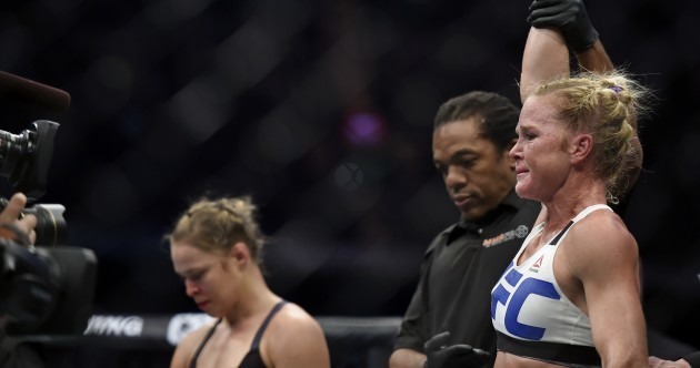 Stunning UFC upset sees Ronda Rousey knocked out by Holly Holm