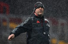 'If we have these conditions next week, I wouldn't change a thing' – Anthony Foley