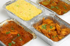 Your Indian takeaway dinner has a LOT more food in it than one person should be eating