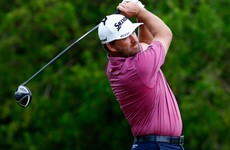 Graeme McDowell is five holes away from a first PGA Tour win in two years
