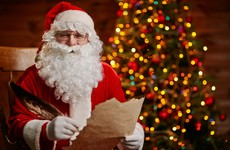 Santa shows us his favourite letters from Irish children