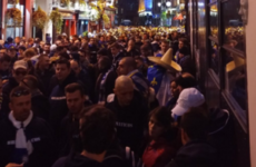 Bosnian fans have arrived in Dublin and are rapidly taking over the city