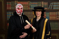 Blindboy from Rubberbandits just posted the most epic graduation photo